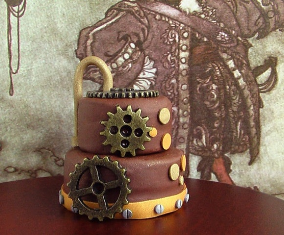 44 unique steampunk halloween decorating ideas digsdigs for Easy steampunk ideas