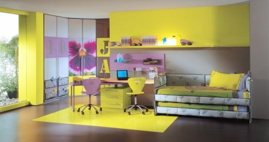 Yume Child Tecnic Bedroom