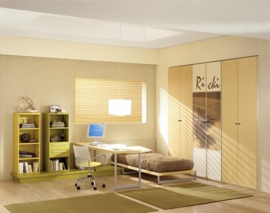 Yume Teen Natural Bedroom