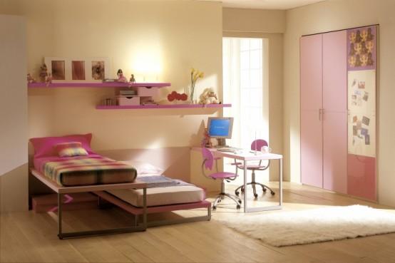 ديكور غرف نوم للبنات رقة ونعومة yume-teen-romantic-b