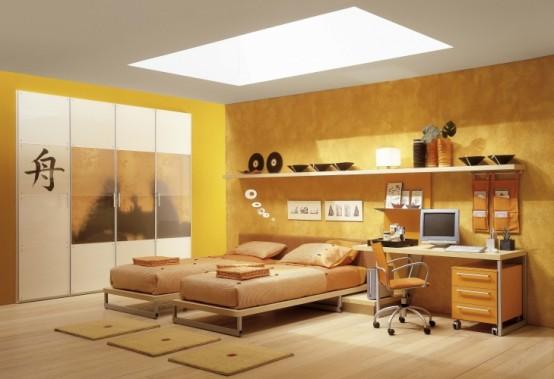 ديكور غرف نوم للبنات رقة ونعومة yume-young-fashion-k