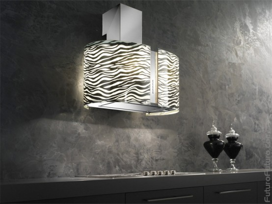 Zebra Cooking Hood