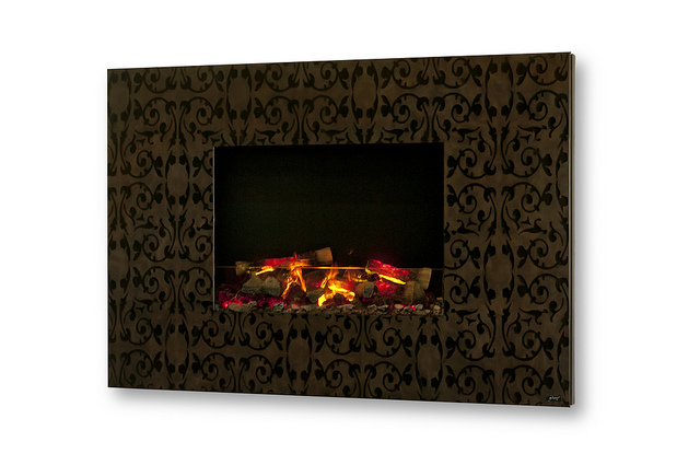 Zen 3D Fireplace With Almost Realistic Fire