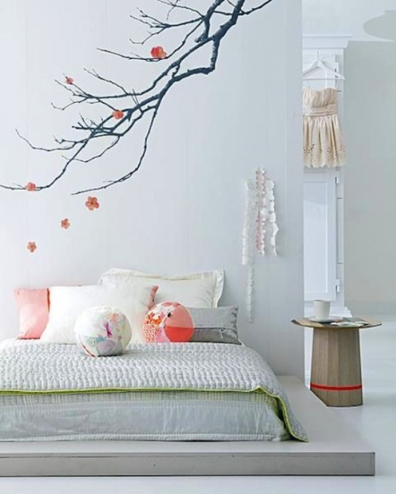 Zen-Like Interior Design With Feminine Details