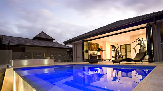 Zen like home that looks and feels like a resort digsdigs for Zen pool design