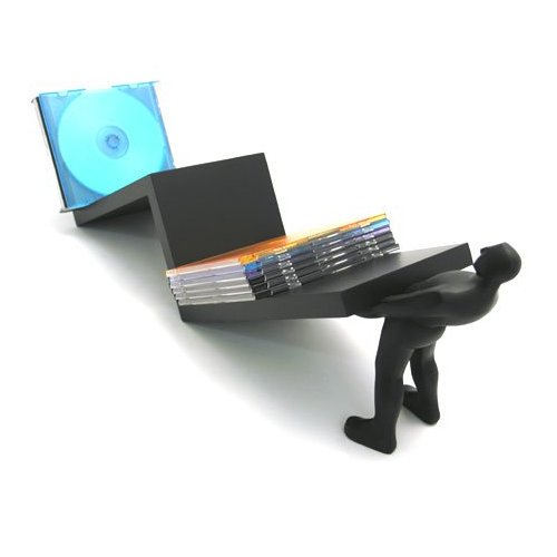 ZigZag CD Holder