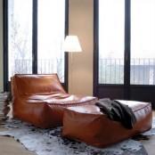zoe low lounge chair